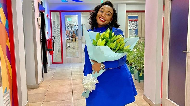 Nick Ndeda surprises Betty Kyallo on set and she is happy about it (Video)