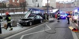 Groźny wypadek w Warszawie. Są ranni