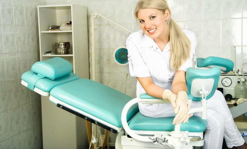 kobieta u ginekologa