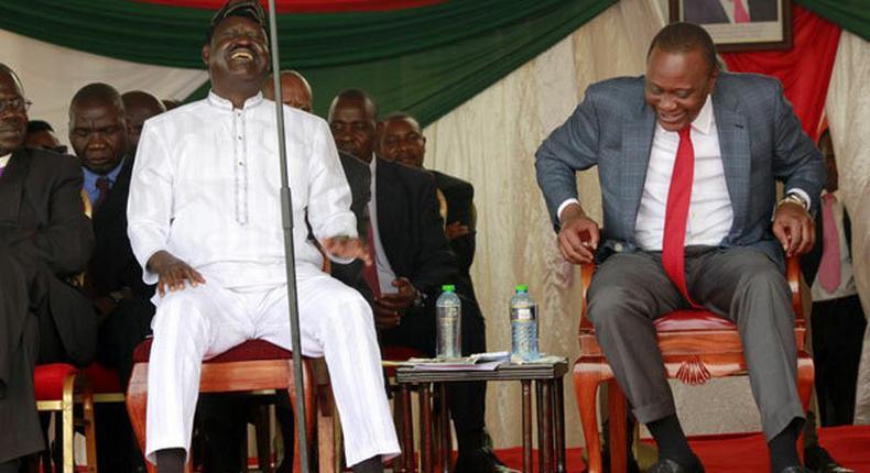 Raila has been giving me better ideas – President Uhuru Kenyatta explains arrangement with former Prime Minister