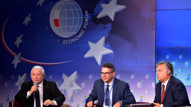 """Debata """"Europa po Brexicie"""" w pierwszym dniu XXVI Forum Ekonomicznego w Krynicy."""