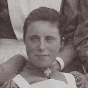 Ludovika Koning, fotografisano 1896.