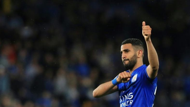 Mahrez scored 48 goals in 179 matches for Leicester