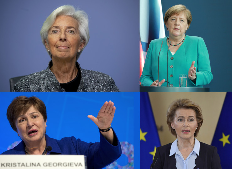 kombo Lagard Merkel Von der lejen Georgieva
