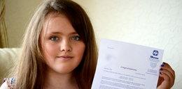 Dwunastolatka z IQ wyższym od Einsteina!