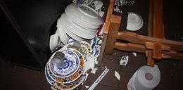 Stłukł talerze warte 17 tys. zł. Posiedzi nawet 5 lat!