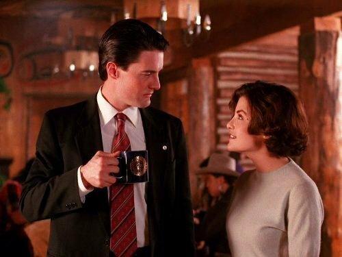 """""""Miasteczko Twin Peaks"""" - kadr z serialu"""