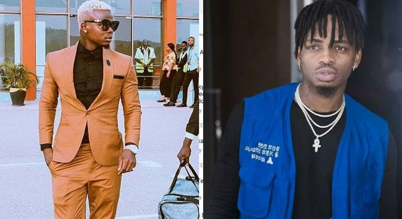 It's disrespectful - Harmonize calls out Diamond after exposing details of his girlfriend's affair with Mwarabu Fighter