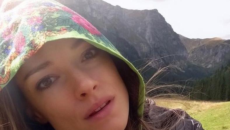 """Alicja na co dzień mieszka w Los Angeles, ale chętnie odwiedza rodzinne strony. Tu pokazała zdjęcie z """"magicznych polskich gór""""."""