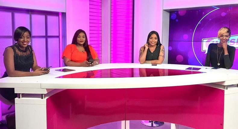 The Chat-spot crew. Nzula Makosi quits Switch TV barely a year after joining the station