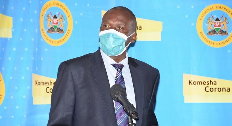 Ministry of Health Director General Patrick Amoth