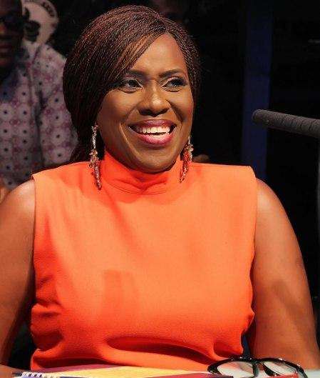 Joke Silva and her one million dollar smile