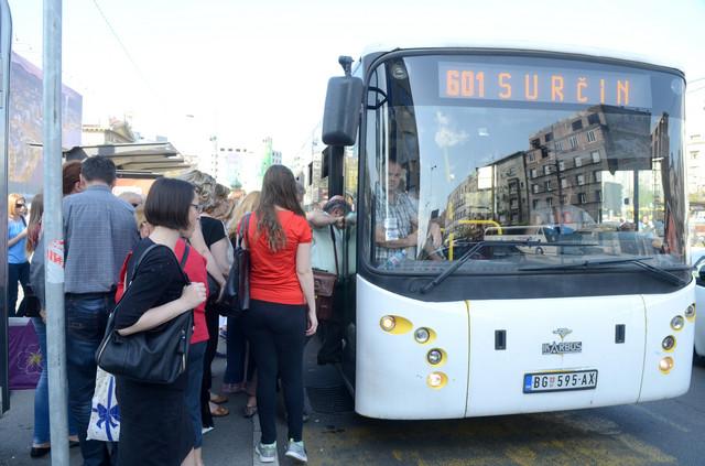 Očekujte veće gužve po autobusima