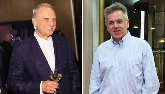 Lazar Ristovski i  Boban Skerlić