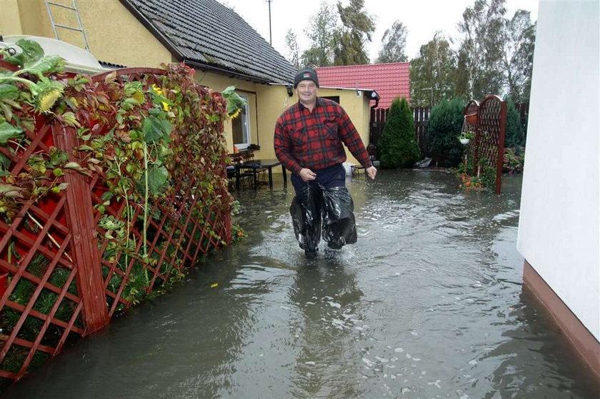 Kataklizm na Pomorzu. Ludziom grozi woda