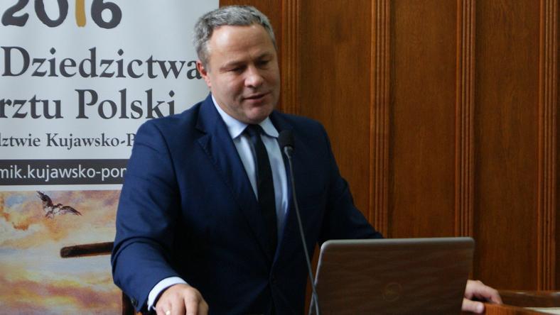 Prezydent Bydgoszczy Rafał Bruski