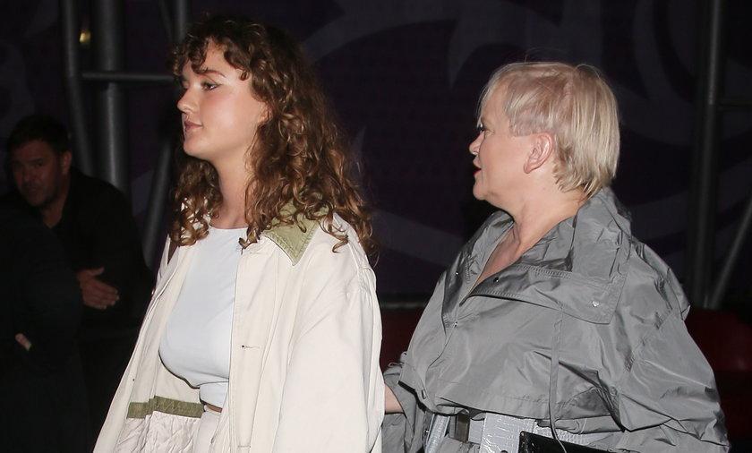 Katarzyna Figura z córką Koko Claire