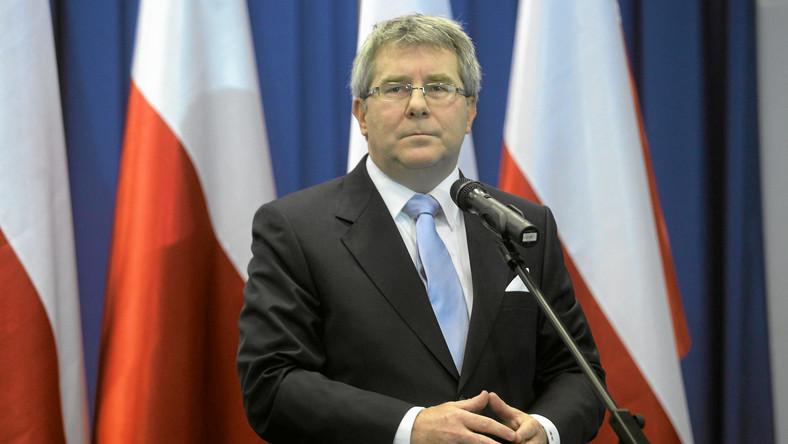 Czarnecki o Gowinie: Test dla Tuska
