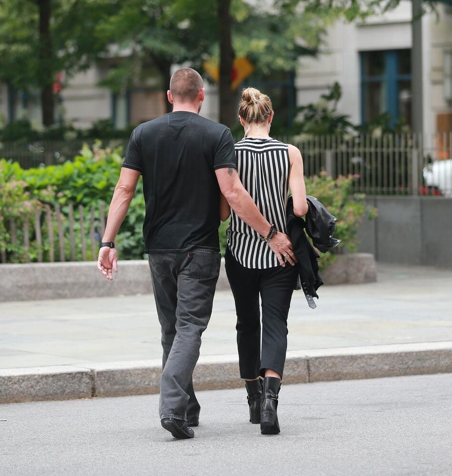 Heidi Klum i Martin Kristen