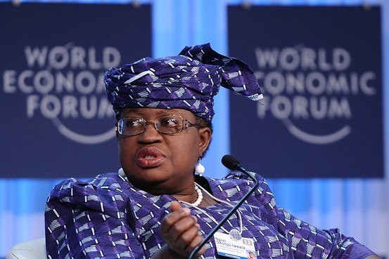 Ngozi Okonjo-Iweala will square up to other candidates in August (WEF)