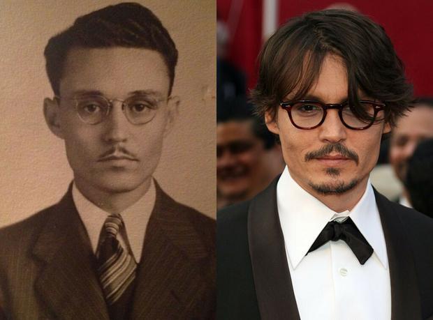 Pradziadek jak Johnny Depp