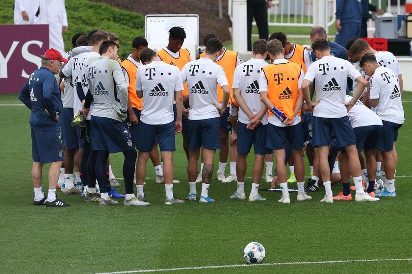 Bójka na treningu Bayernu Monachium