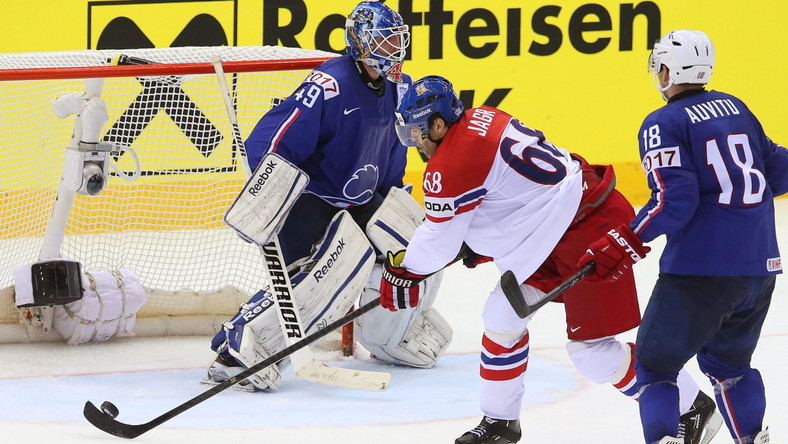 Mistrzostwa świata w hokeju: mecz Czechy - Francja