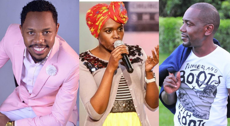 Sleepy David clashes with Zeddy over her exposé on Churchill show Director Victor Ber