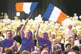 francuzi sa za zastavama03_EPA_foto EPA sebastien nogier