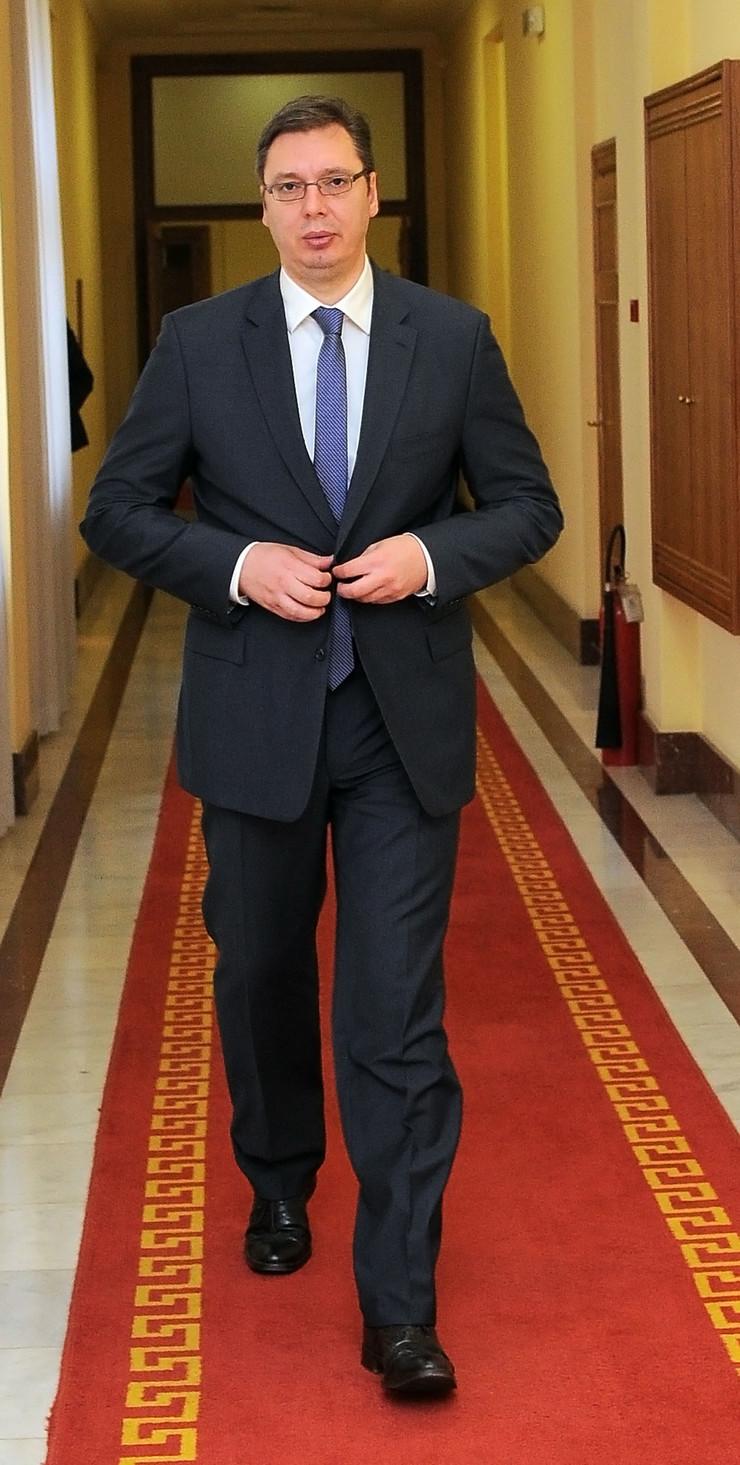 predsednički kandidati1 Aleksandar Vucic intervju _060314_RAS foto Oliver Bunic39