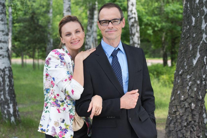 Sylwia Gliwa i Waldemar Błaszczyk