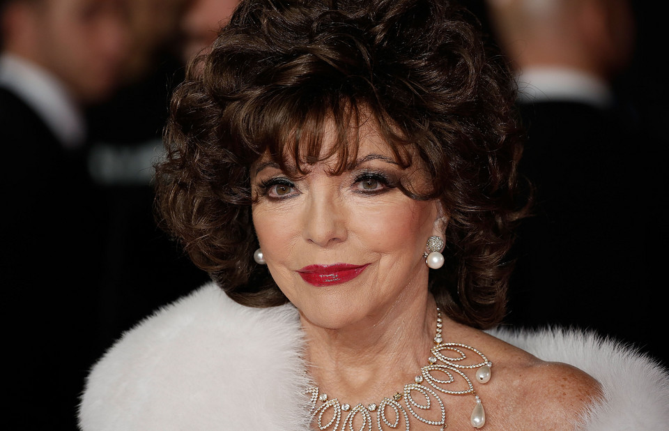 Joan Collins obecnie
