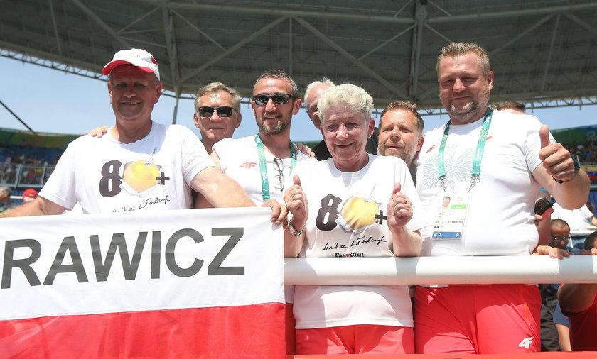 Rodzice i trener Anity Włodarczyk, Robert Śmigielski