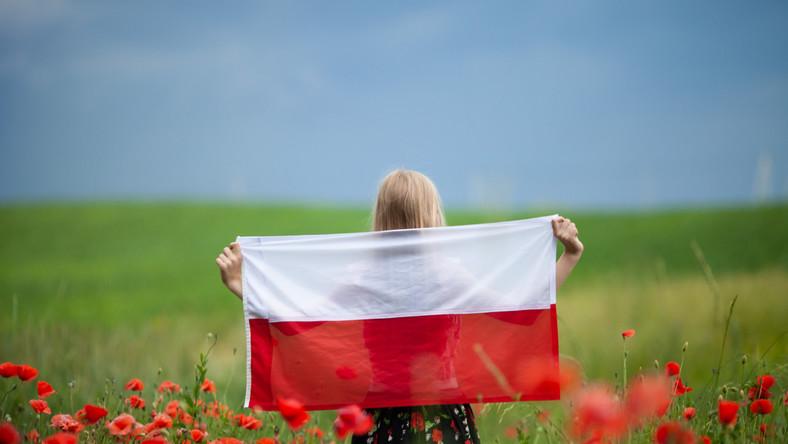 nowy ład polski założenia polska flaga maki