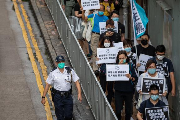 Protestni marš u Hong Kongu