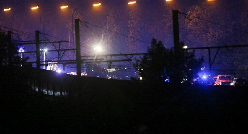 Zderzenie pociągów. Piorun uderzył w sygnalizację