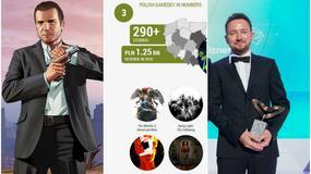 100 sekund z grami - raport na temat polskiej branży gier wideo, doskonałe wyniki GTA V i nagroda dla prezesa Techlandu
