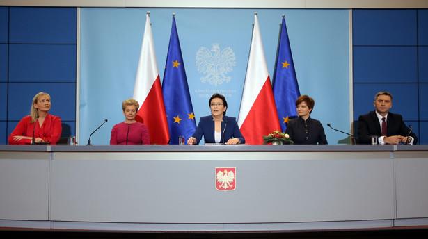 Konferencja po posiedzeniu rządu
