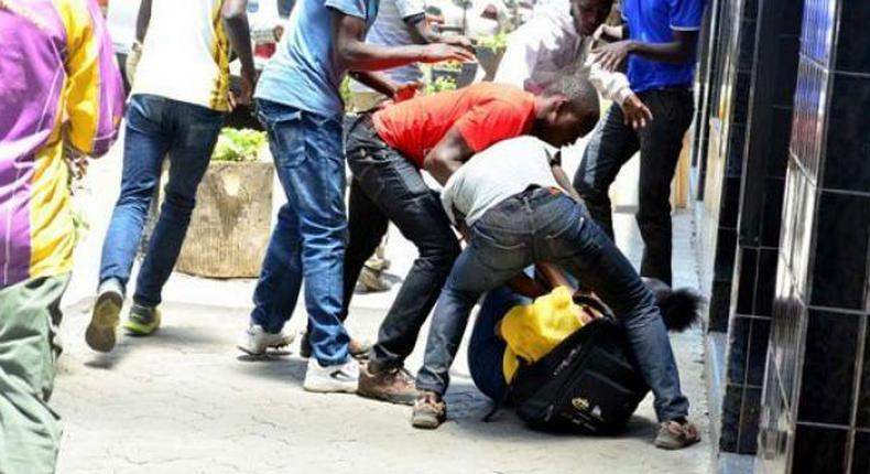 Godfrey Sangare Ambani, leader of Nairobi robbery gang arrested at Milimani Law Courts