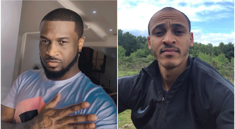 Peter Okoye ends beef with Osazee Odemwingie as they apologise to each other over Instagram comments