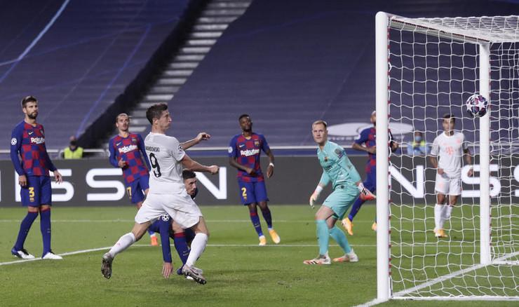 Levandovski postiže gol