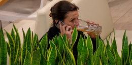 Felicjańska z mężem na mieście. Najpierw pili piwo, a co zrobili potem?