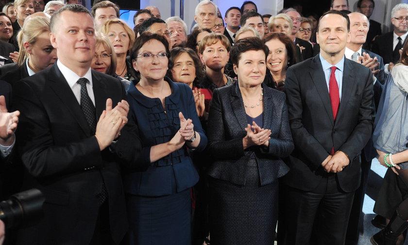 Wybory samorządowe sztab PO