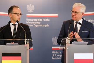 Czaputowicz: Trzeba rozmawiać z Niemcami na temat reparacji