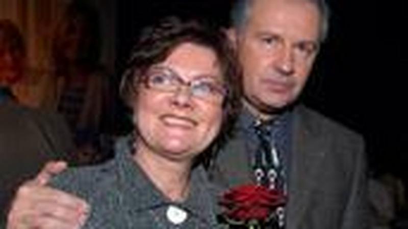 Paweł i Krystyna Lubicz, czyli Tomasz Stockinger i Agnieszka Kotulanka/ fot. mwmedia