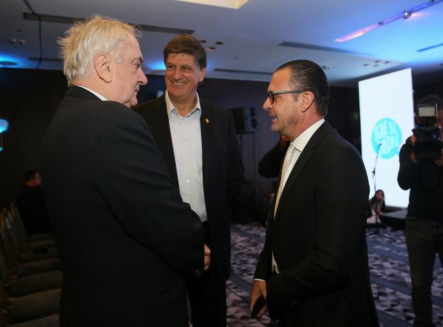 Božidar Maljković, Žarko Zečević i Predrag Mijatović