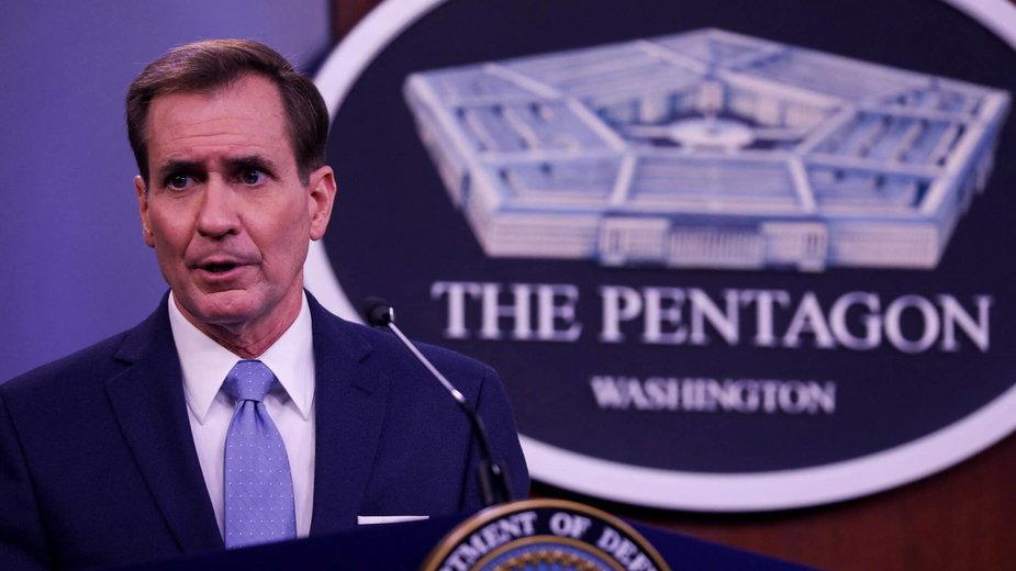 Rzecznik Pentagonu John Kirby