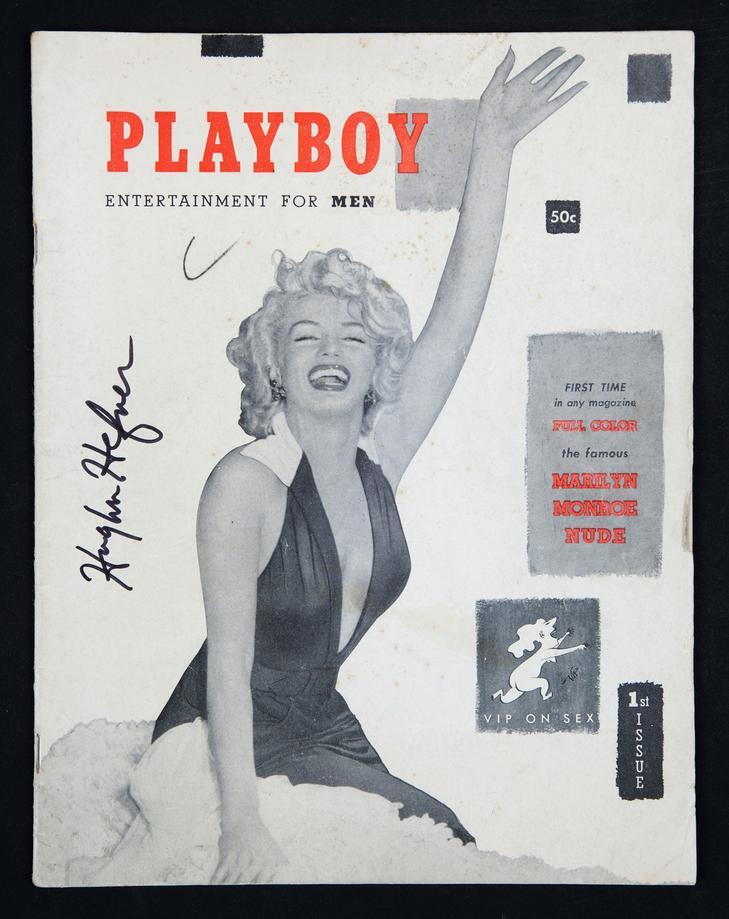 Marilyn Monroe a Playboyban /Fotó: Profimedia