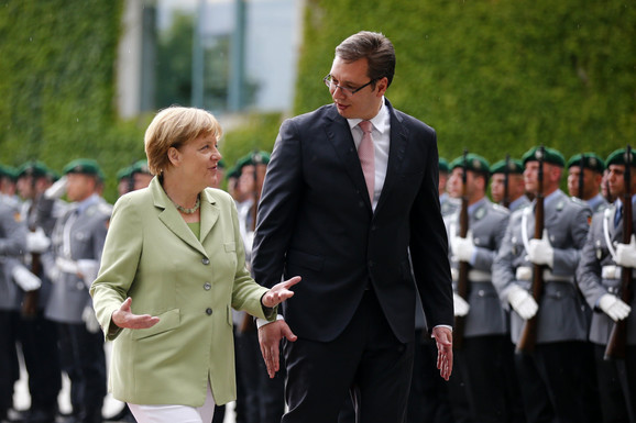Vučić i Angela Merkel sve bolje sarađuju