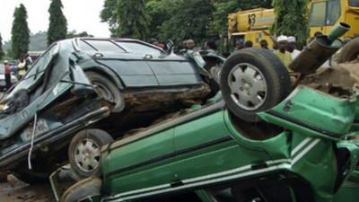 1 dead, 6 injured as 2 cars collide on Abeokuta-Sagamu Expressway